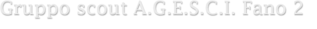 Logo agesci fano 2